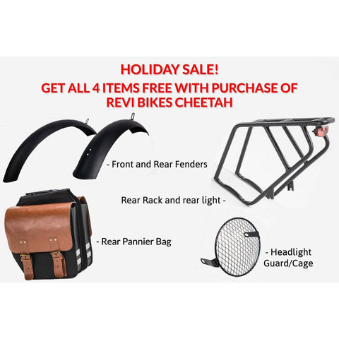 FREE GIFT: Cheetah Bike Complete Accessory Kit