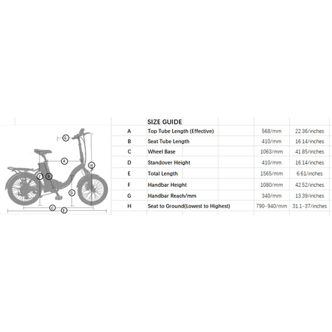 Image of Ecotric Starfish 36V/10Ah 350W Folding Electric Bike