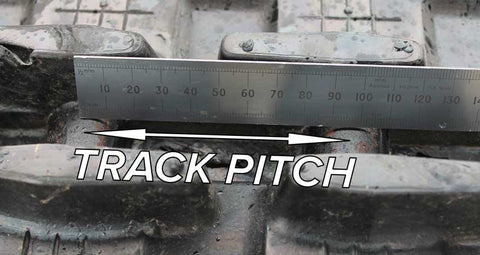 Measure Track Pitch