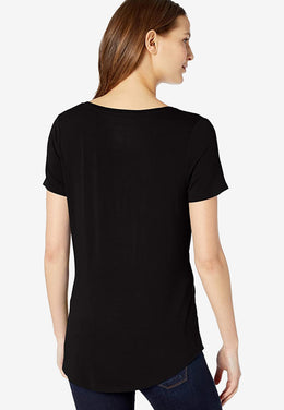 Women's Relaxed-Fit V-Neck T-Shirt-Boost Commerce Vertical Product Filter Demo