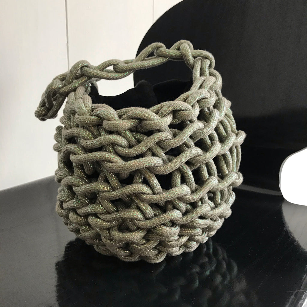 Tina bag waxed cotton rope