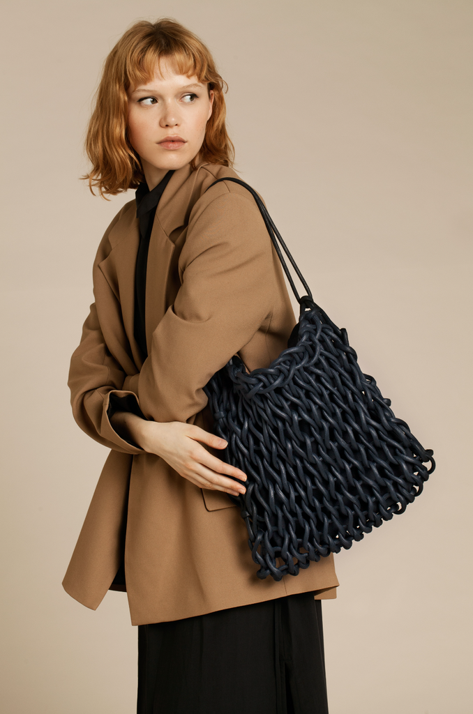 Sara bag waxed cotton rope