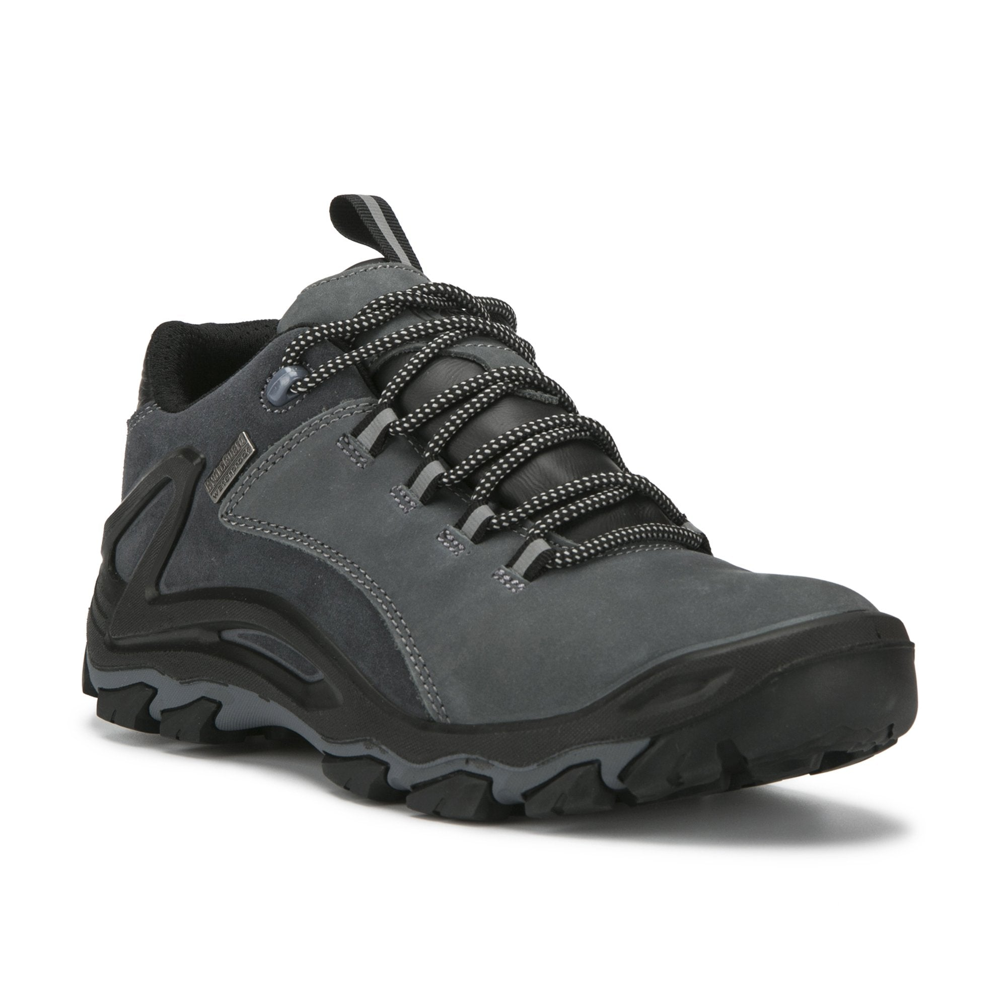 Black Slip Resistant 4 inch hiking shoe