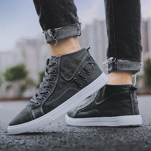 Decorative Criss Cross Lace Up Sneakers