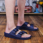 Buckle Straps Men Slippers