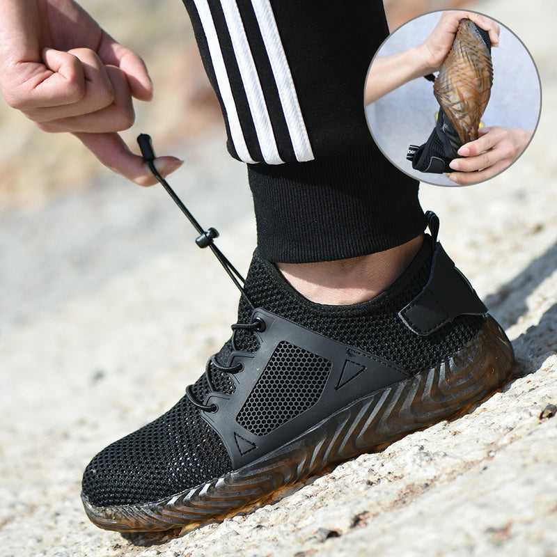 Air Safety Puncture Proof Work Shoes