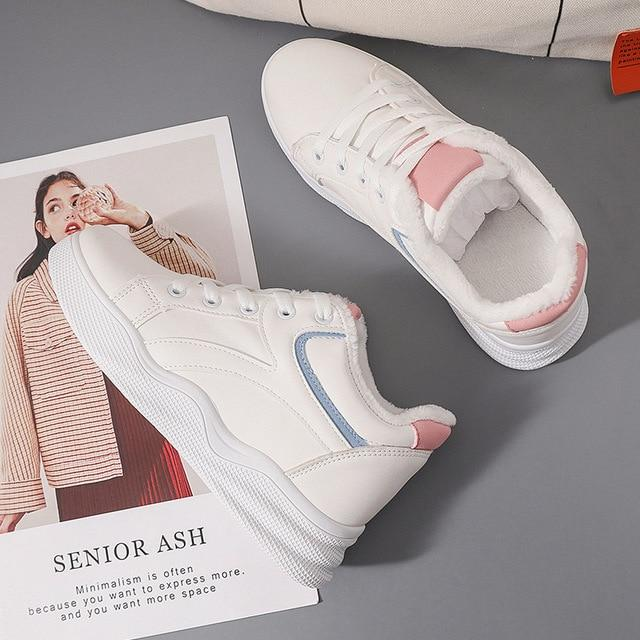 Fashion Breathable Casual Platform Sneakers - Tsubo Shoes