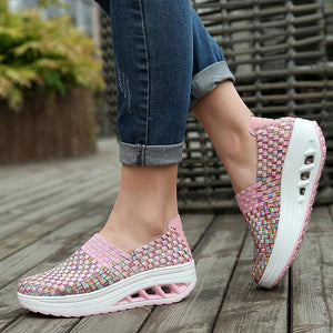 Fashion Breathable Casual Women Sneakers - Tsubo Shoes