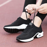 Fashion Mesh Platform Women Sneakers - Tsubo Shoes