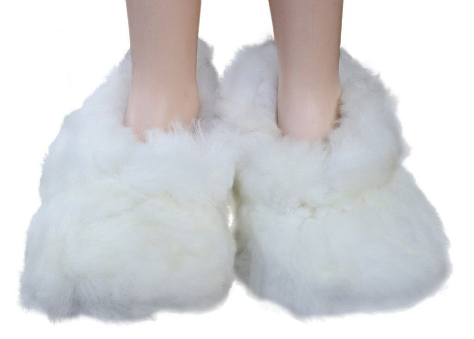 Fluffy Furry Fuzzy Slippers - Tsubo Shoes
