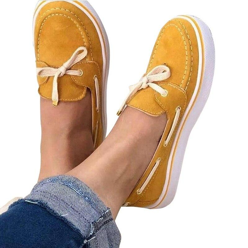 Lace-Up Moccasins Style Women Flats - Tsubo Shoes