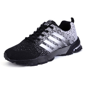 Casual Sneakers Lace up Lightweight Breathable Mesh Shoes - Tsubo Shoes