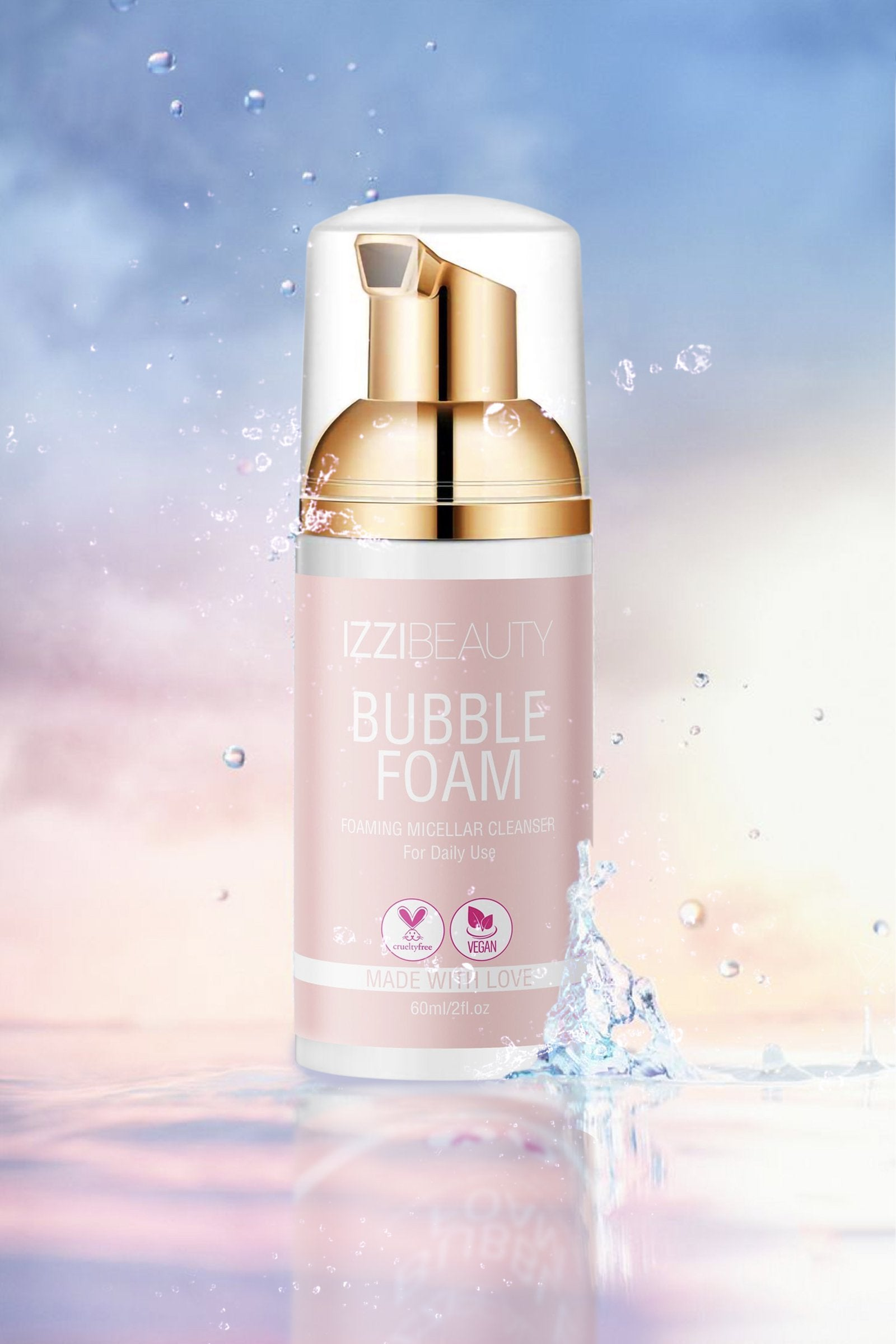 BUBBLE FOAM - izzi cosmetics