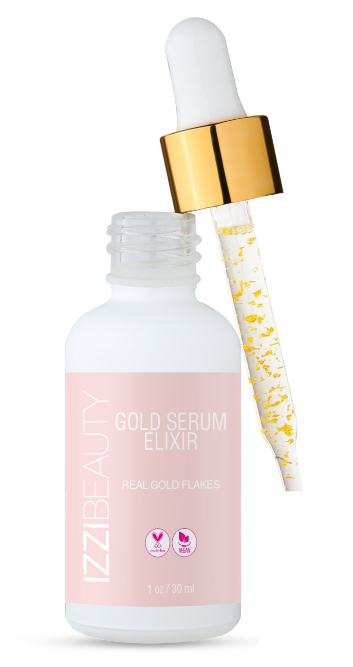 GOLD SERUM ELIXIR - izzi cosmetics