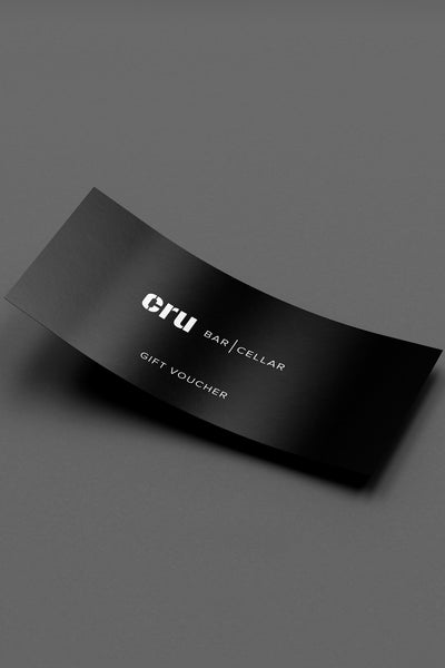 Cru Bar & Cellar Gift Card