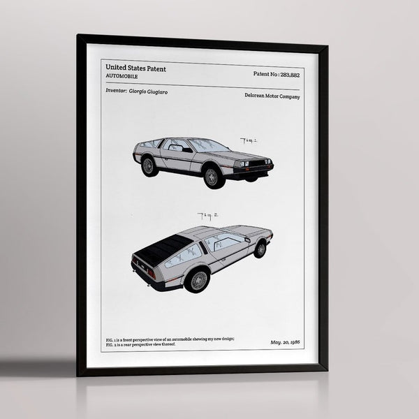 Affiche DELOREAN