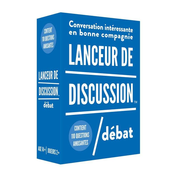 Lanceur de discussion - DÉBAT