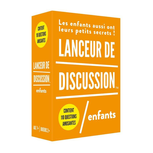 Lanceur de discussion - ENFANT