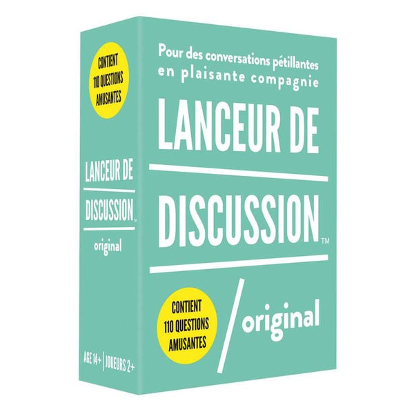 Lanceur de discussion - ORIGINAL