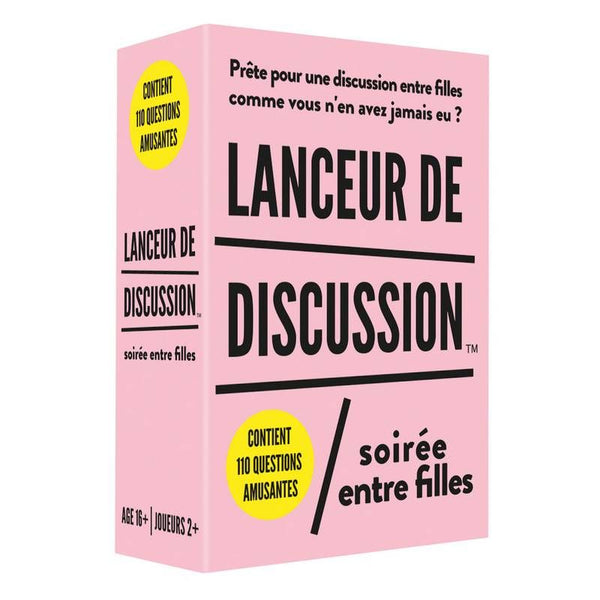 Lanceur de discussion - FILLES