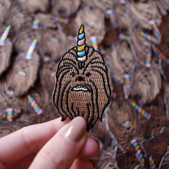 Patch tissé - CHEWBACORN