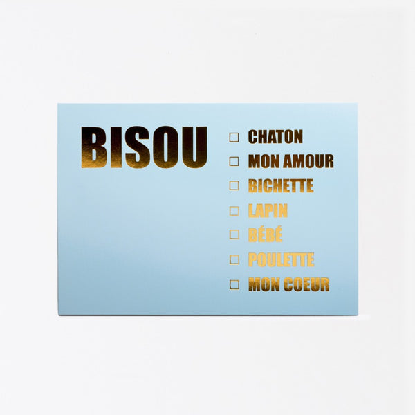 Carte - BISOUS