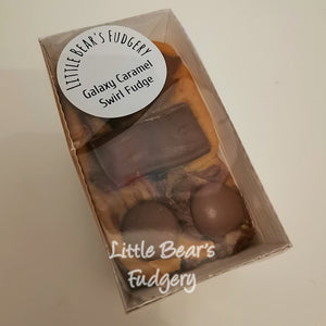 Galaxy Caramel Swirl Fudge - Little Bear's Fudgery