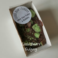 Load image into Gallery viewer, Mint Chocolate Fudge & Bubbles