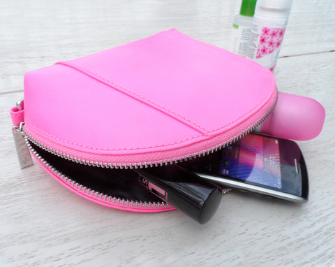 Gillan Battery Pouch - Charge on the Go - Saffiano Leather