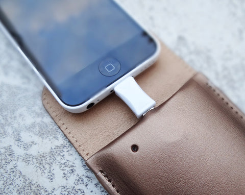 Sulan Battery Tag - Premium Genuine Leather - by Jadeco