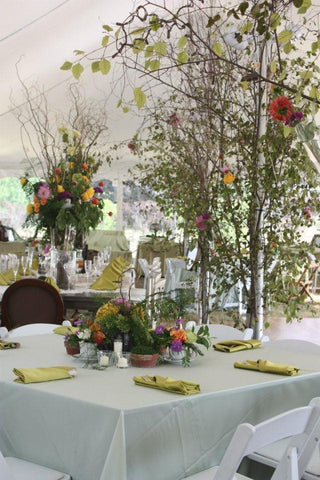 Outdoor party planning foundry farm