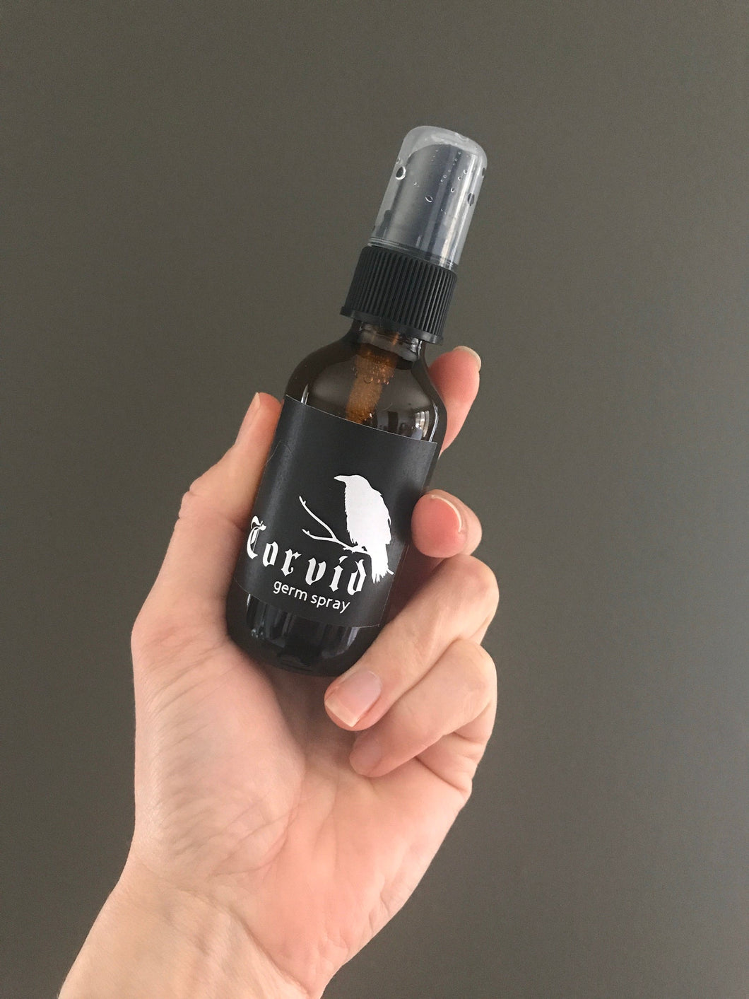 Corvid- Germ Busting Alcohol Spray with Essential Oils