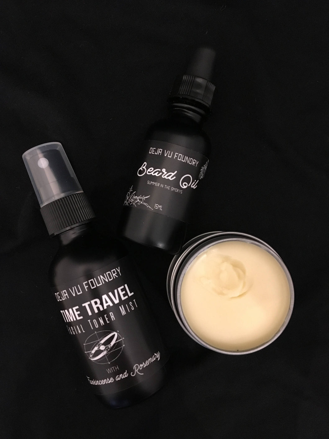 Men's Gift Set Beard Oil Toner Mist Hand Salve