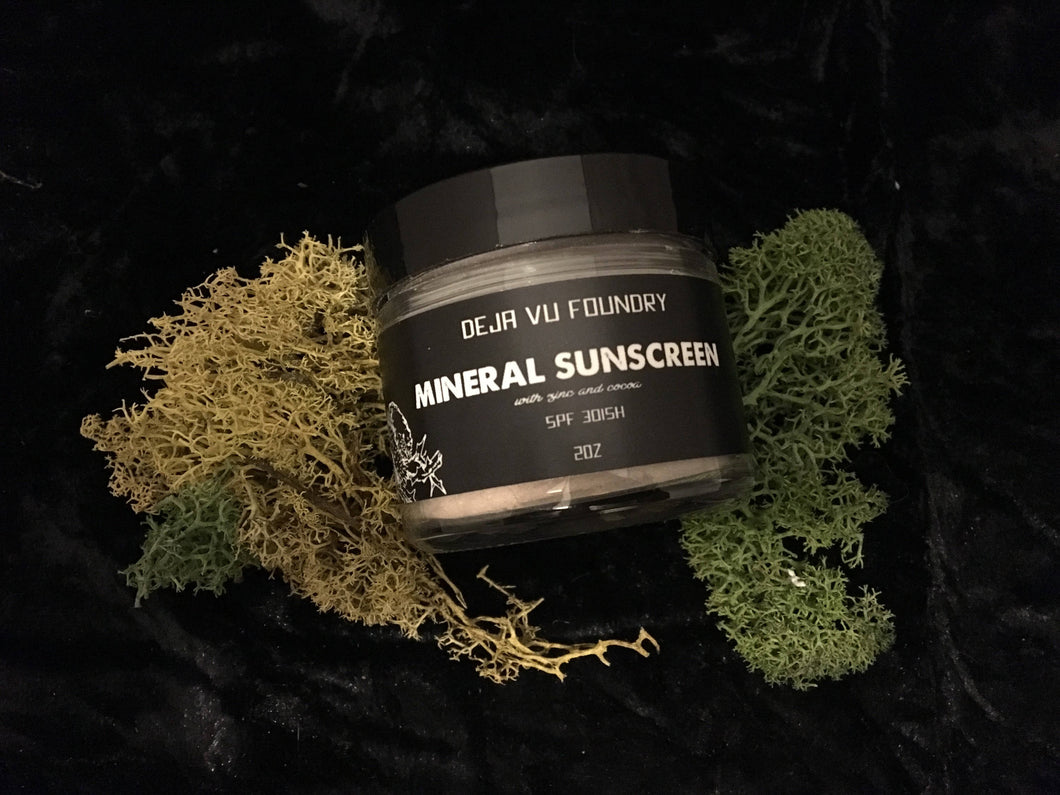Mineral Zinc Sunscreen- All Skin Tones 🙌🏿🙌🏾🙌🏽🙌🏼🙌🏻
