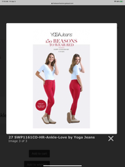 Yoga Jeans #1161 High Rise Ankle Skinny in Love & Almond