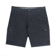 Lois Enrique Men's 98% Cotton Cargo Shorts