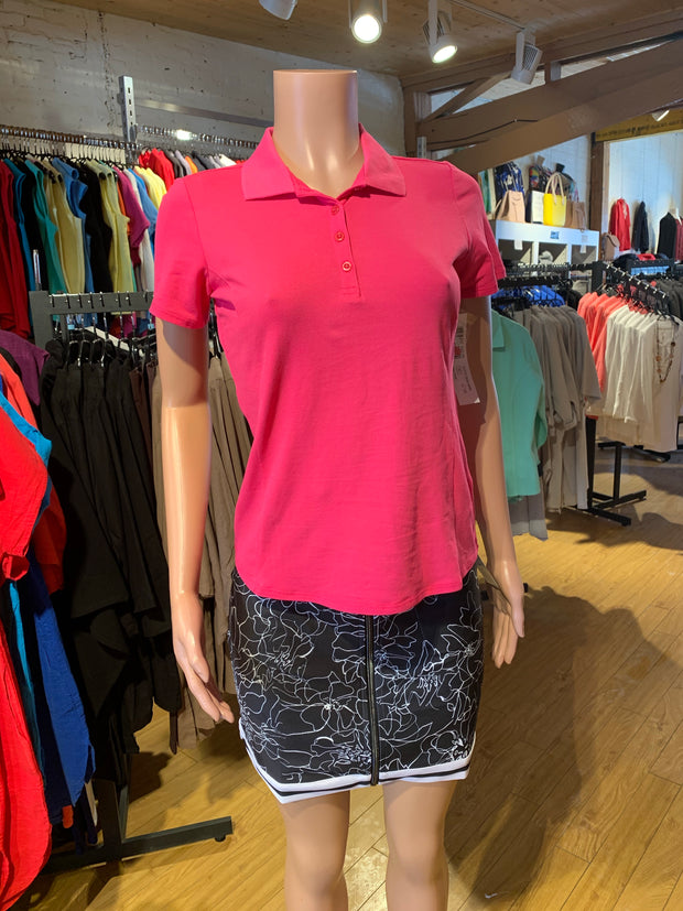 Tribal Short Sleeve Collared Golf Shirt