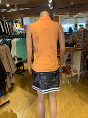 Tribal Cotton Sleeveless Collared Golf Shirt