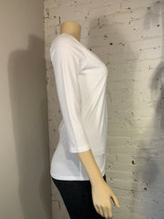 Soya Concept 3/4 Sleeve Scoop Neckline Top