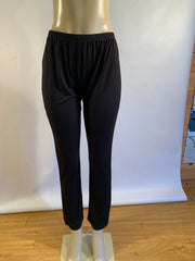 Pretty Woman Black Straight Leg Trouser Dress Pant