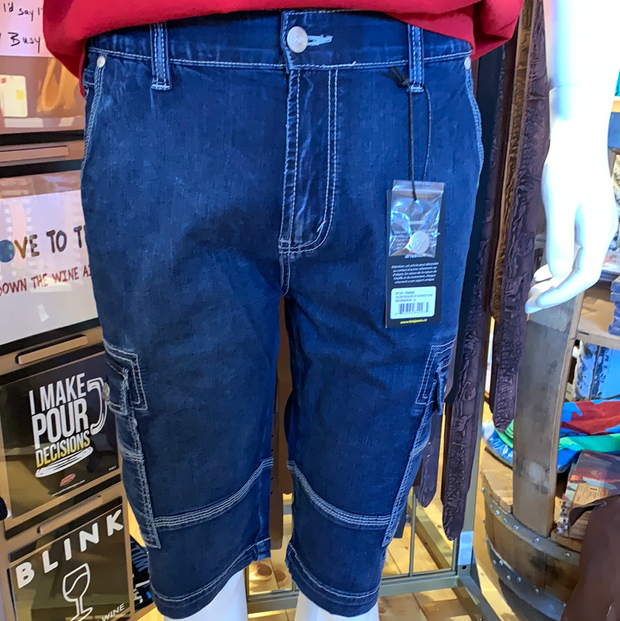 Lois Enrique Cargo Denim Shorts