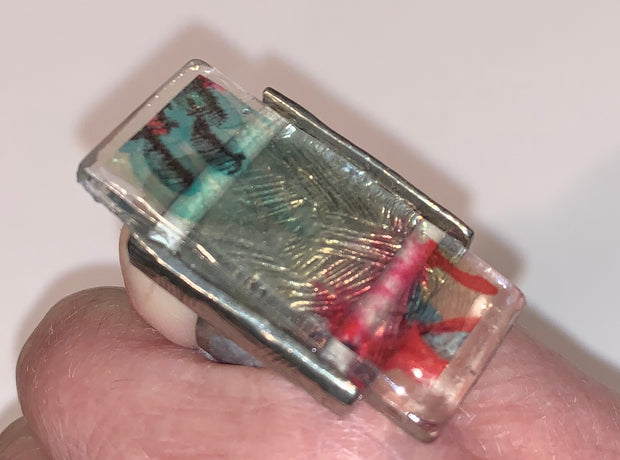 Anne-Marie Chagnon Glass Ring