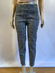 Up! Hi Lo Hem Grey Weave Pant