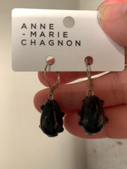 Anne-Marie Chagnon Besar Black Earrings