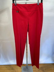 "Lisette L 805 Solid Magical Lycra 31"" Slim Red Pant"
