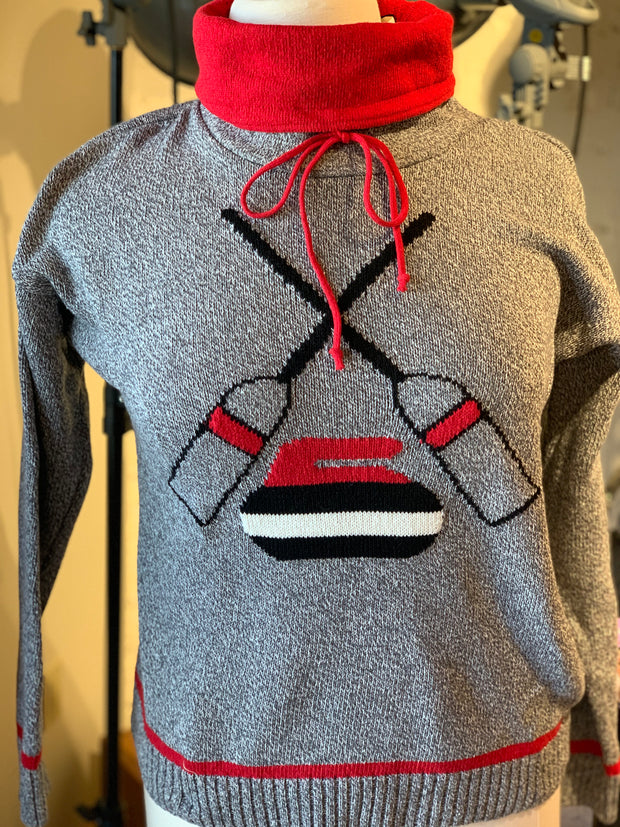 Cotton Country Curling Unisex Sweater by Parkhurst