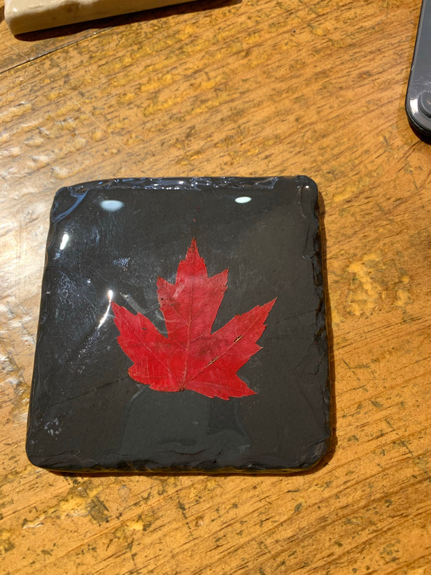 Maple Leaf Handmade Coasters