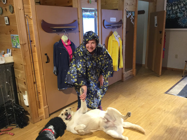 Joules Pack-Away Poncho