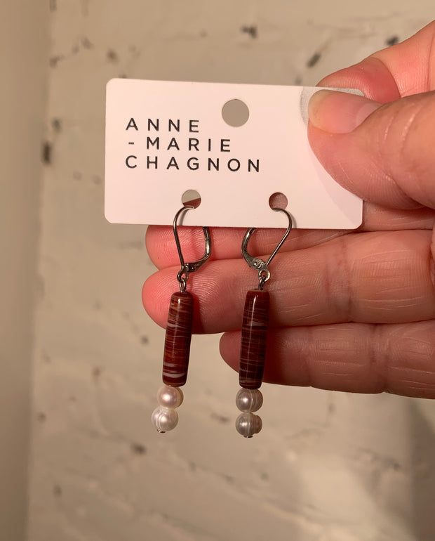 Anne-Marie Chagnon Crista Medium Length Earrings