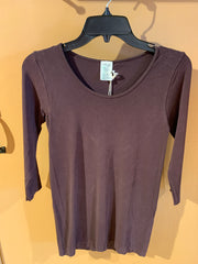 C'est Moi One Size Bamboo 3/4 Sleeve Top